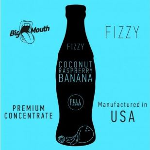 Coconut Raspberry Banana Fizzy 10ml - Concentré Big Mouth