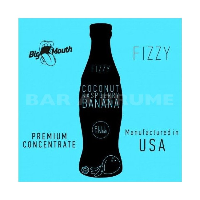 Coconut Raspberry Banana Fizzy 10ml - Concentré Big Mouth