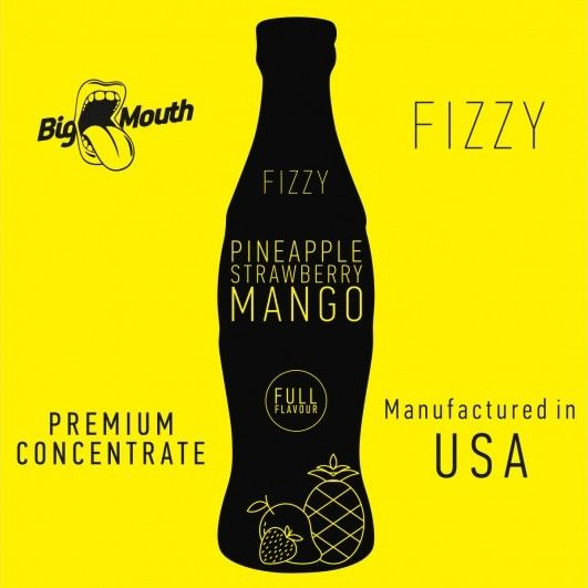 Pineapple Strawberry Mango Fizzy 10ml - Concentré Big Mouth