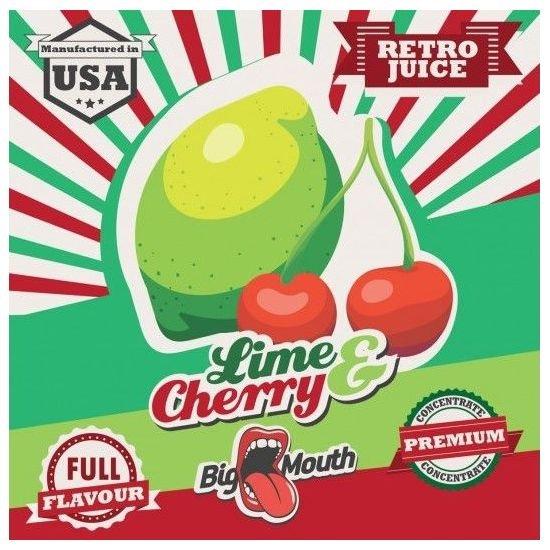 Lime & Cherry Retro Juice 10ml - Concentré Big Mouth