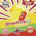 Strawberry & Lemon Retro Juice 10ml - Concentré Big Mouth