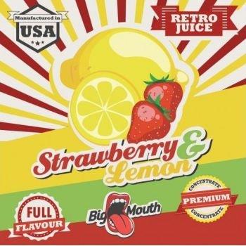 Strawberry & Lemon Retro Juice 10ml - Concentré Big Mouth