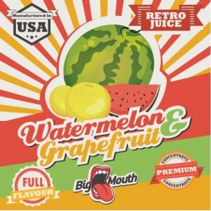 Watermelon & Grapefruit (Retro Juice) 10ml - Concentré Big Mouth