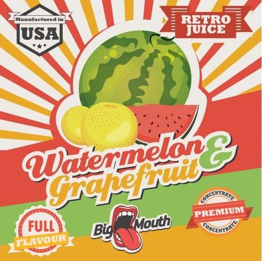 Watermelon & Grapefruit Retro Juice 10ml - Concentré Big Mouth