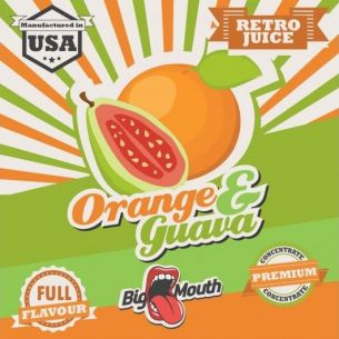 Orange & Guava (Retro Juice) 10ml - Concentré Big Mouth