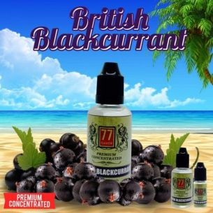 British Blackcurrant 30ml - Concentré 77 Flavor