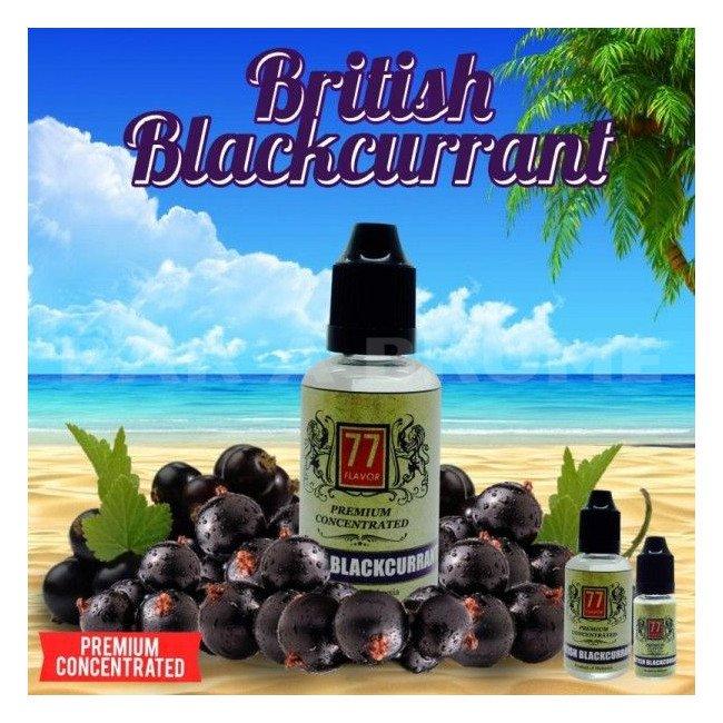 British Blackcurrant 30ml - Concentré 77 Flavor