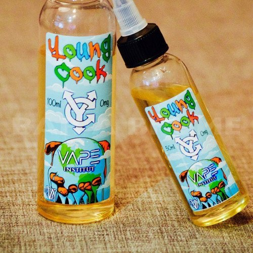 Young Cook 100ml 0mg - Vape Institut