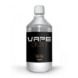 Vape Or Diy 1 Litre 50PG/50VG
