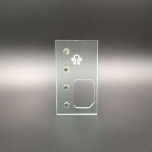 Porte Gaucher Octo Verso PMMA - Octopus Mods