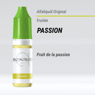 E-liquide Passion 10ml - Alfaliquid