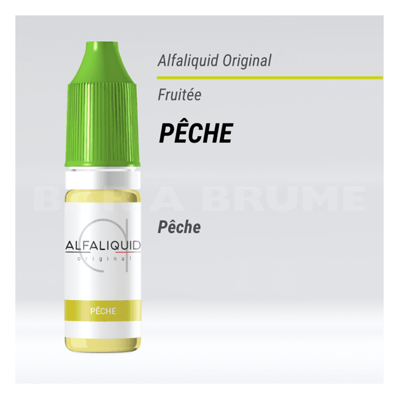 Pêche 10ml - Alfaliquid