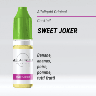 E-liquide Sweet Joker 10ml - Alfaliquid