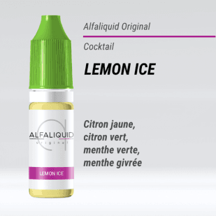 E-liquide Lemon Ice 10ml - Alfaliquid