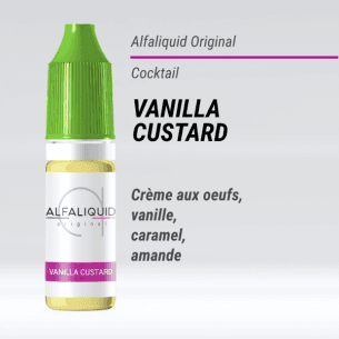 Vanilla Custard 10ml - Alfaliquid