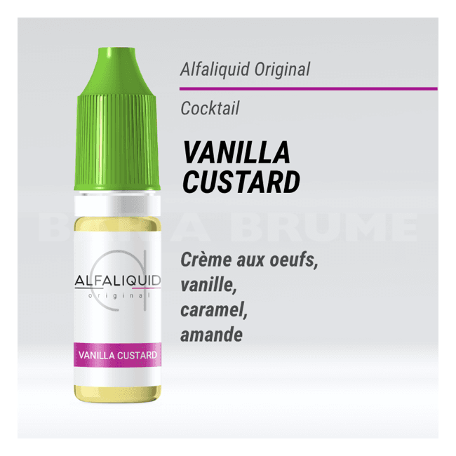 Vanilla Custard 10ml - Alfaliquid