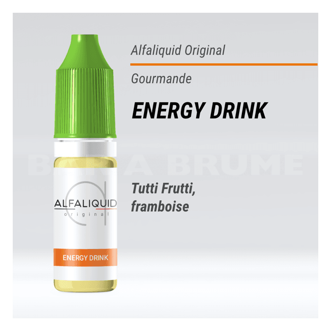 Energy Drink 10ml - Alfaliquid