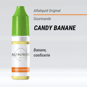 Candy Banane 10ml - Alfaliquid