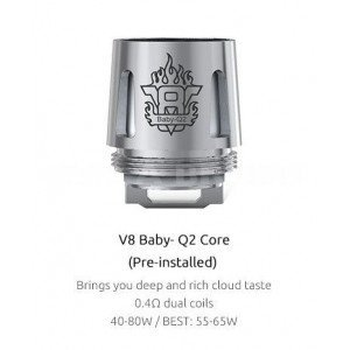 Résistance TFV8 Baby Q2 Core - Smok