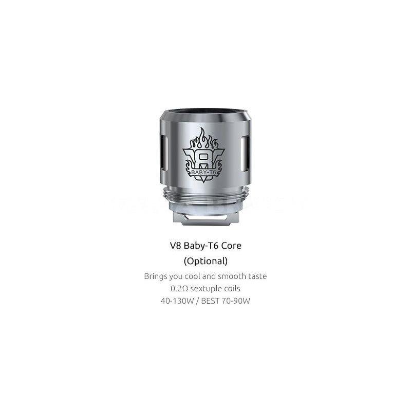 Résistance TFV8 Baby T6 - Smok