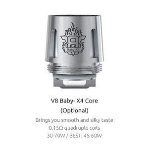 Résistance TFV8 Baby X4 - Smok