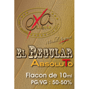 El Regular 10ml - Exaliquid