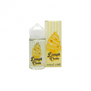 E-liquide Dough Cream 100ml 0mg - Kinetik Labs
