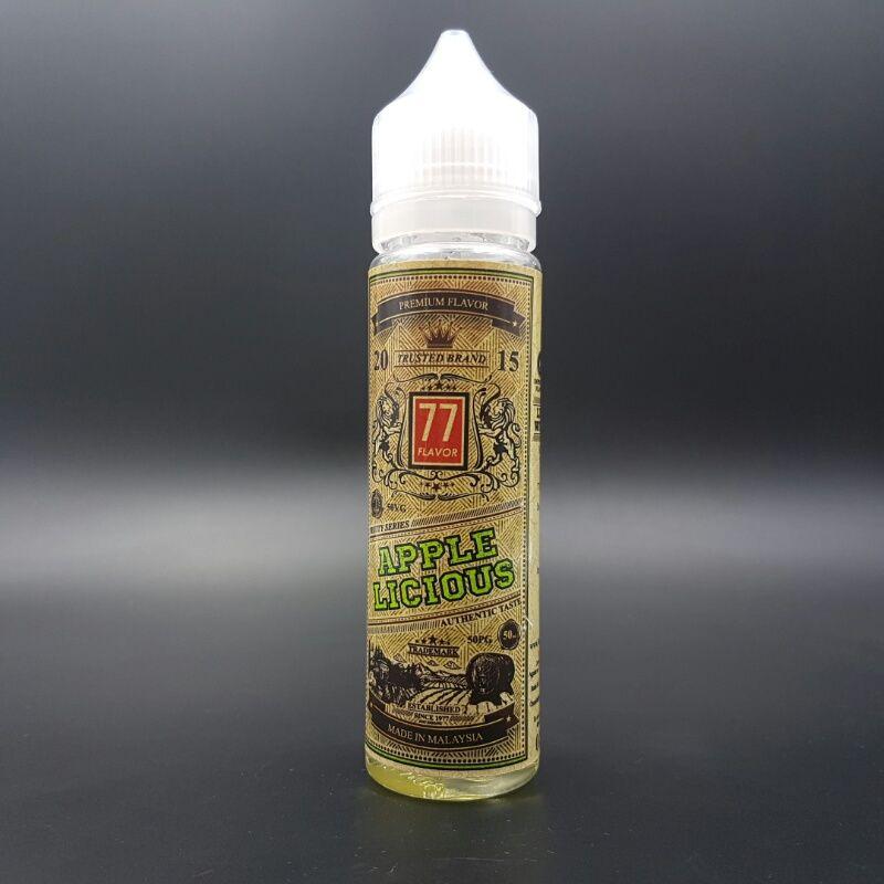 Applelicious 50ml 0mg - 77 Flavor
