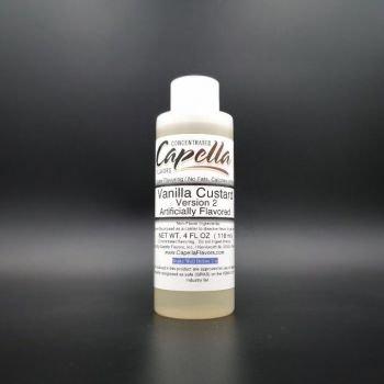 Vanilla Custard v2 118ml - Capella Flavors