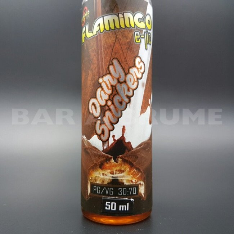 Dairy Snickers 50ml 0mg - Flamingo