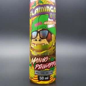 Mango Pineapple 50ml 0mg - Flamingo