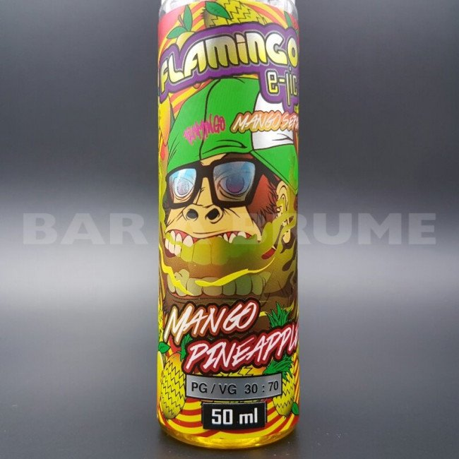 Mango Pinneapple 50ml 0mg - Flamingo