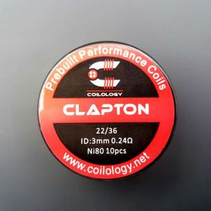 Clapton Nichrome préfaits x10 - Coilology