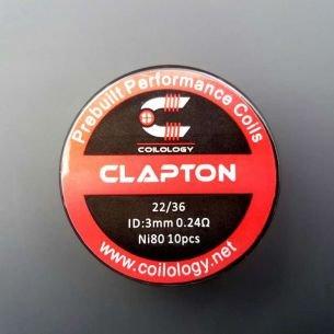 Clapton Nichrome préfaits x10 - Coilology