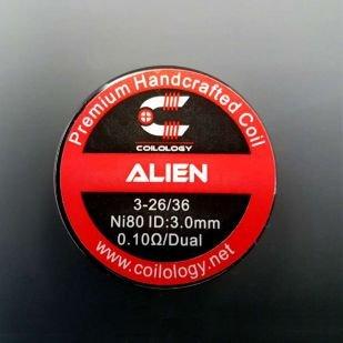Alien 0.1ohm Nichrome Coils fait main x2 - Coilology