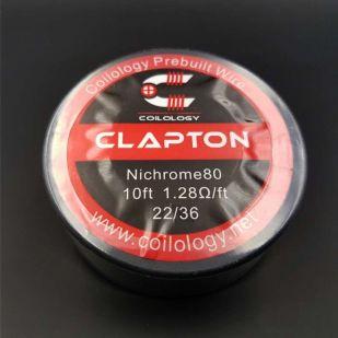 Clapton Nichrome bobine 10ft - Coilology