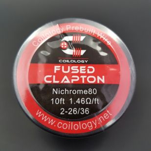 Fused Clapton Nichome bobine 10ft - Coilology