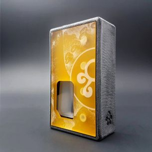 Octo Twins Ultem Distress - octo510 - Box Mod BF - Octopus Mods