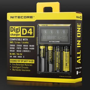 Chargeur D4 - Nitecore