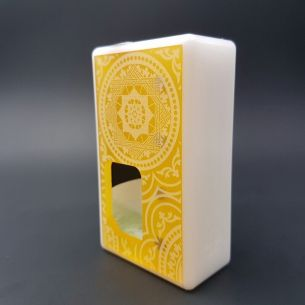 Octo Orient Ultem White Delrin - octo510 - Box Mod BF - Octopus Mods