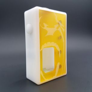 Octo Hurlante Ultem White Delrin - octo510 - Box Mod BF - Octopus Mods