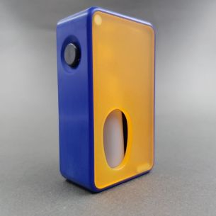Squonker Blue Box Frosted Orange - Armageddon MFG
