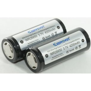 Accu 26650 4200mAh - Keeppower