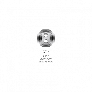 Résistance NRG GT4 0.15ohm - Vaporesso