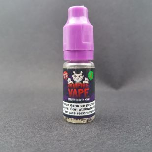 E-liquide Strawberry Kiwi 10ml - Vampire Vape