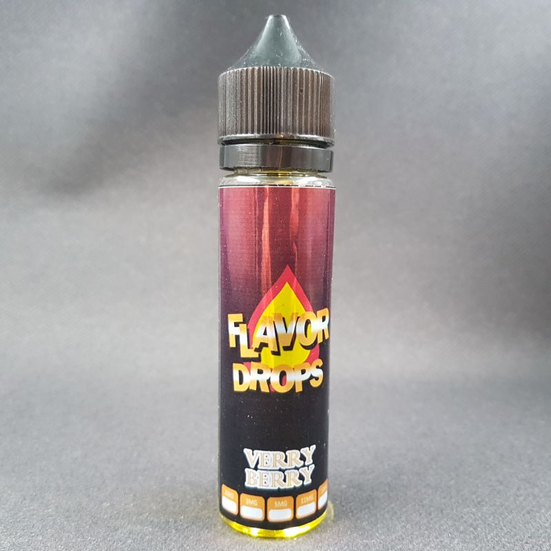 Very Berry 50ml 0mg - Flavor Drops