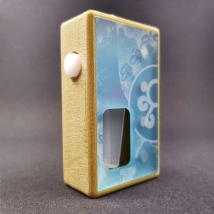 Octo Twins Olive Sky Distress - octo510 - Box Mod BF - Octopus Mods