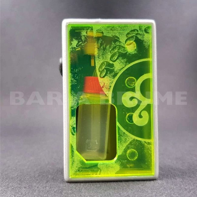 Octo Twins Spring Green Distress - octo510 - Box Mod BF - Octopus Mods