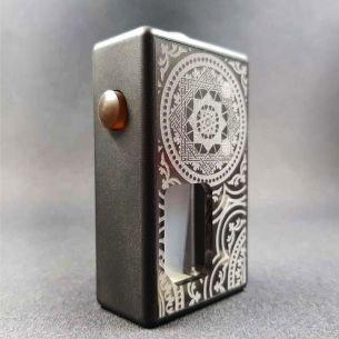 Octo Verso Black Orient Delrin - octo510 - Box Mod BF - Octopus Mods