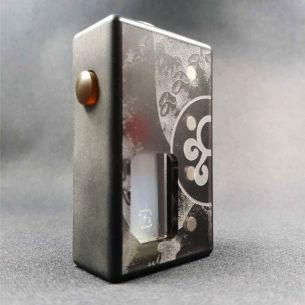 Octo Verso Black Twins Delrin - octo510 - Box Mod BF - Octopus Mods